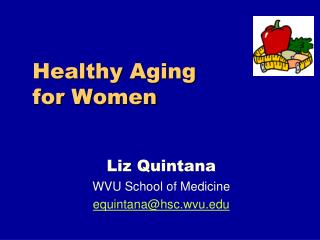 Healthy Aging           for Women