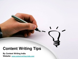 Content Writing Tips And Ideas