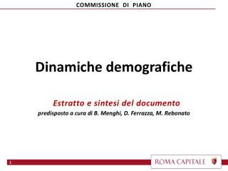 COMMISSIONE   DI   PIANO