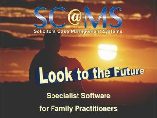 Specialist Software for Family Practitioners