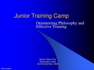 Junior Training Camp