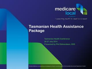 Tasmanian Health Assistance Package