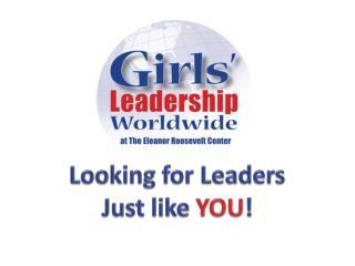 Looking for  Leaders Just like  YOU !