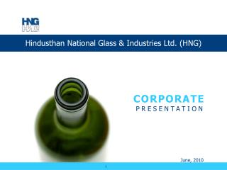 Hindusthan National Glass & Industries Ltd. (HNG)