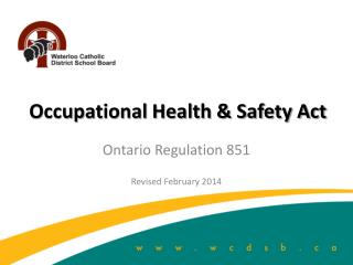 Occupational Health & Safety Act