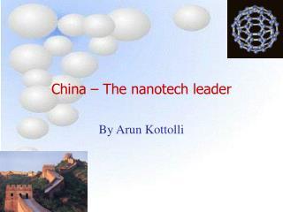 China – The nanotech leader