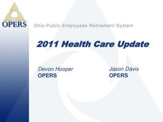 2011 Health Care Update