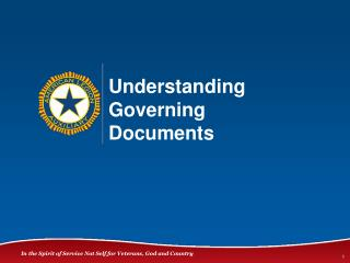 Understanding Governing  Documents