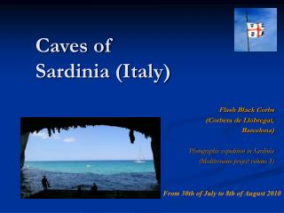 Caves of Sardinia (Italy)