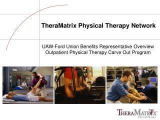 TheraMatrix Physical Therapy Network