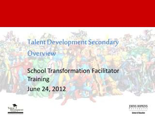 Talent Development Secondary Overview