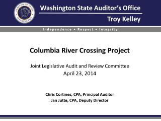 The Columbia River Crossing (CRC) Project