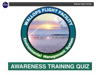 AWARENESS TRAINING QUIZ