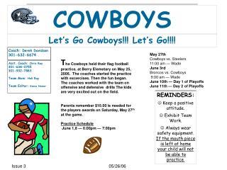 Let's Go Cowboys!!! Let's Go!!!!