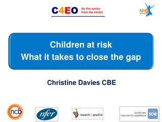 Christine Davies CBE