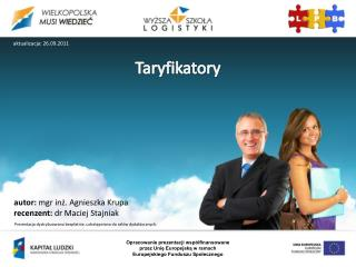 Taryfikatory