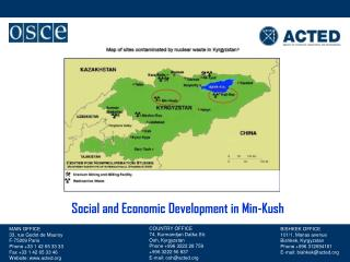 Social and Economic Development in Min-Kush