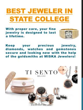 Wedding Rings State College