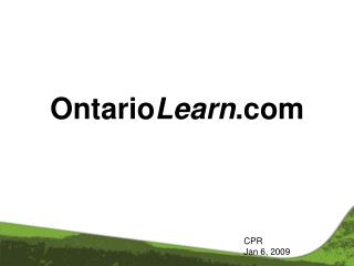Ontario Learn