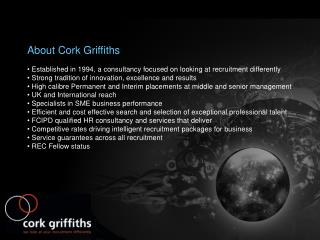 About Cork Griffiths