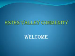Estes valley community