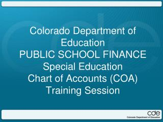 Financial Policies and Procedures Handbook cde.state.co/cdefinance/sfFPP.htm