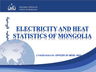 Electricity and heat statistics of  mongolia