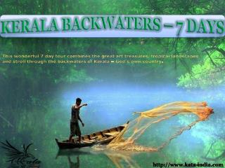 7 Days Kerala Backwaters Tour