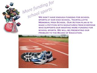 More funding for school sports