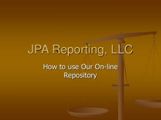 JPA Reporting, LLC