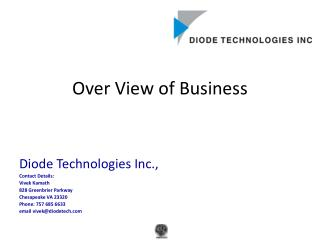 Over View of Business