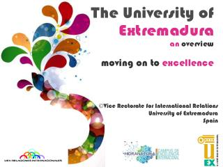 Vice Rectorate for International Relations University of Extremadura Spain