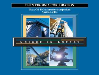 IPAA Oil & Gas Investor Symposium April 21, 2004