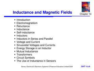 Inductance and Magnetic Fields