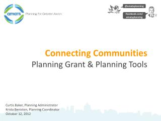 Connecting Communities  Planning Grant & Planning Tools