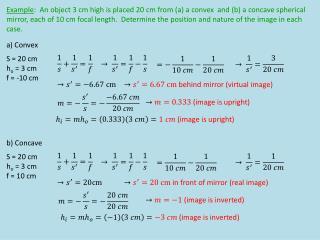 a) Convex