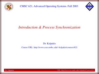 Introduction & Process Synchronization