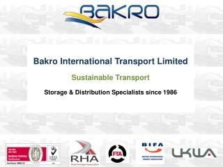 Bakro  International Transport Limited Sustainable Transport