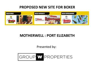PROPOSED NEW SITE FOR BOXER