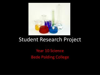 Student Research Project