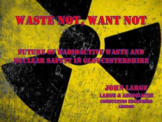 Waste Not, Want Not