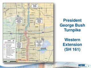 President George Bush Turnpike Western Extension  (SH 161)