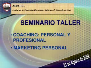 SEMINARIO TALLER