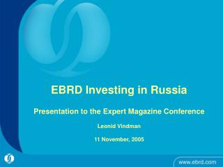 Russian Financial Market Developments EBRD Activities and Case Studies