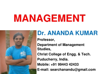 A STUDY    ON    EMPLOYEE MOTIVATION  IN  FUNCTIONAL LEVEL EMPLOYEES IN INDIAN ORGANISATIONS  -ANAND KUMAR  MANAGEMENT D