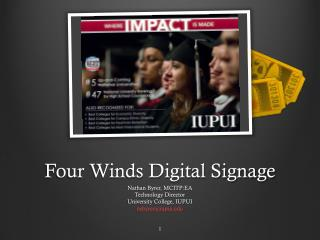 Four Winds Digital Signage