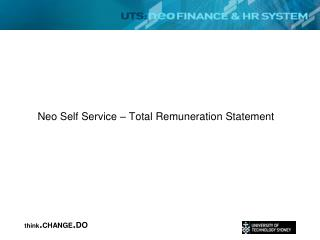 Neo Self Service   Total Remuneration Statement