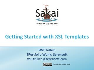 Getting Started with XSL Templates