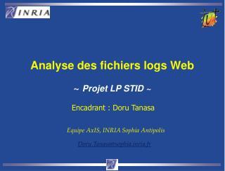 Analyse des fichiers logs Web ~ Projet LP STID ~