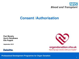 Consent /Authorisation